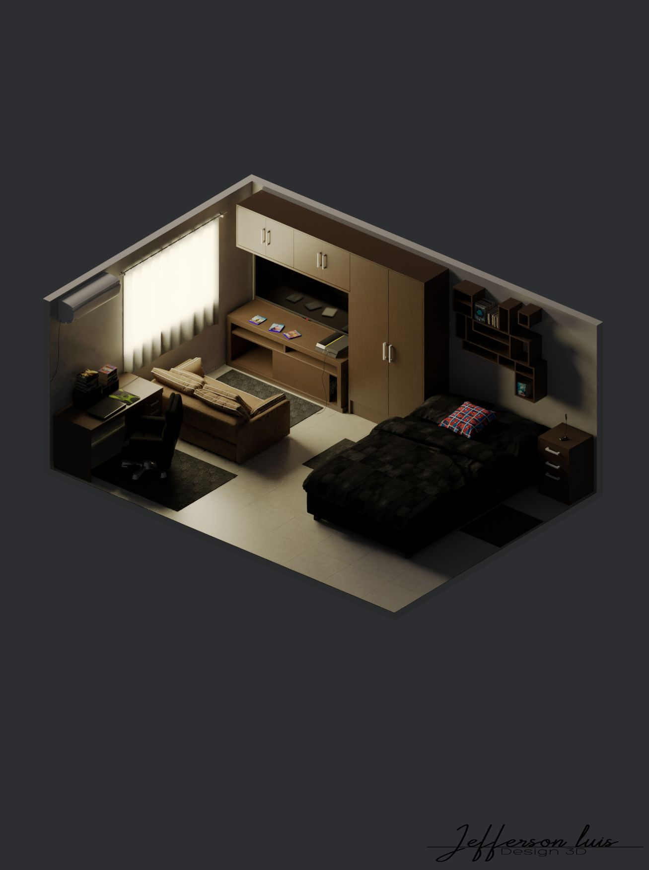 My 3d Room Design: MY ISOMETRIC ROOM #2 (With Images)