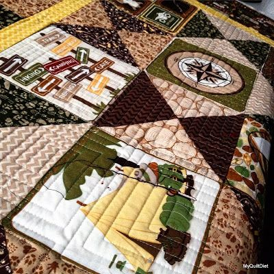 My Quilt Diet...: Nancy's Camping Quilt