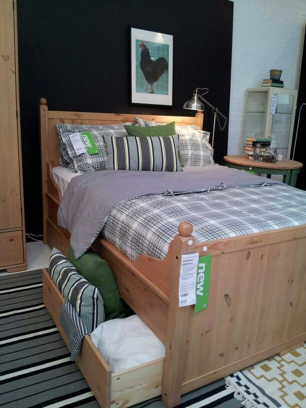 Newest Ikea Bed Hurdal Was At The Ikeacatalog Launch Party