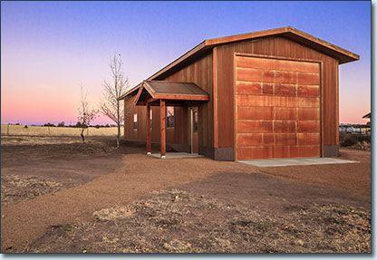 Prescor builders ranch series metal steel buildings for Rv boat storage buildings