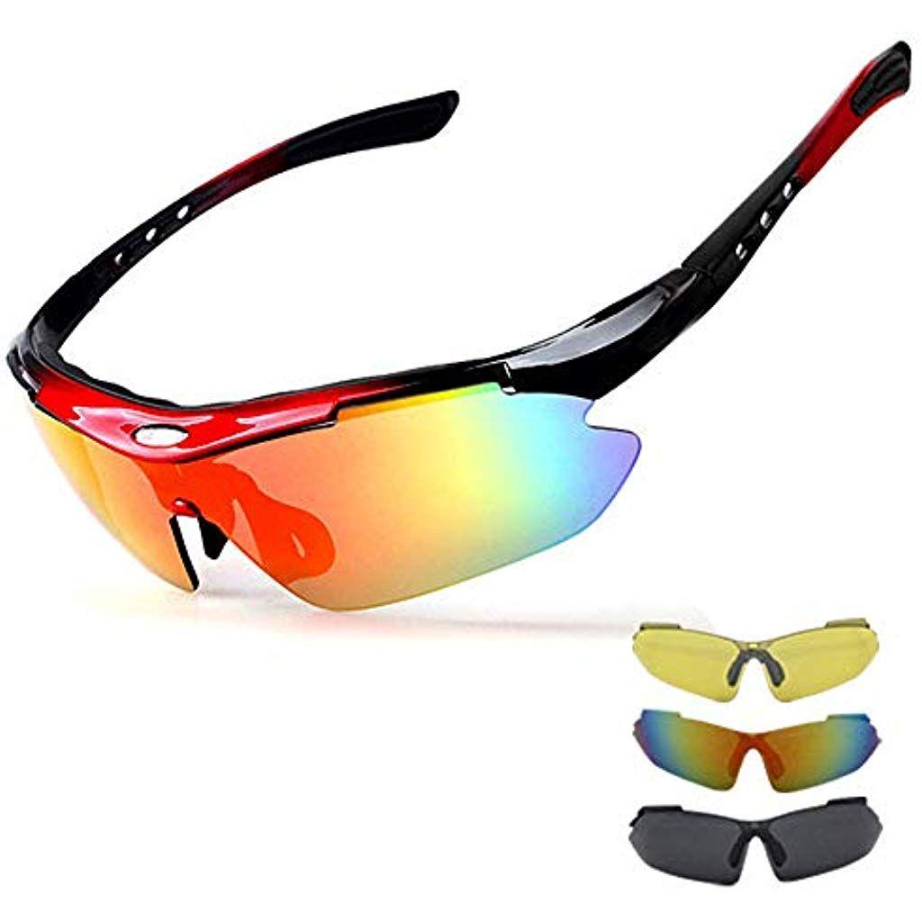 Sportsonnenbrille Fahrradbrille Bikerbrille Herren Damen