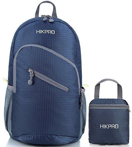 04db86ca9d2d Hikpro Ultralight Packable Travel Backpack Large Best Foldable Hiking  Daypack Ultra Lightweight Outdoor Travel Camping Biking School Backpacking    Perfect ...