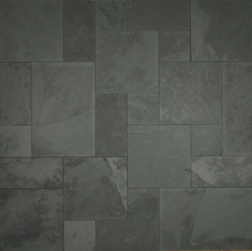 Blueishpewter grey blueish pewter grey sltgrblbr1616 attractive bathroom floor tiles part 5 gray slate floor tile doublecrazyfo Images
