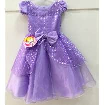 d656a3ecb5 Vestido Infantil Festa Princesa Sofia Pronta Entrega!