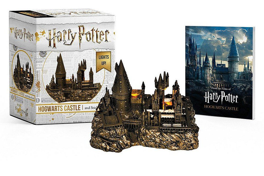 Amazon Com Harry Potter Hogwarts Castle And Sticker Book Lights Up Miniature Editions 9780762464401 Harry Potter Hogwarts Castle Hogwarts Castle Hogwarts