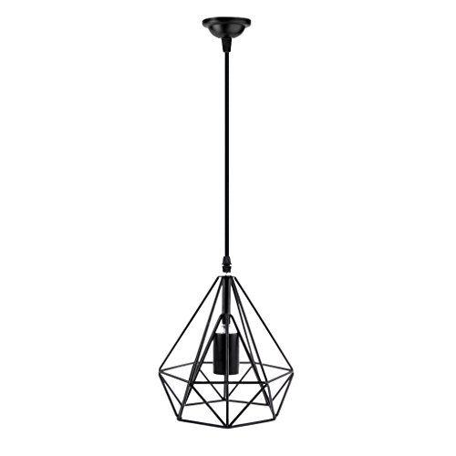 Generic hanging diamond belt shape lampshade bulb cage holder w wire generic hanging diamond belt shape lampshade bulb cage holder w wire pendant light for keyboard keysfo Gallery