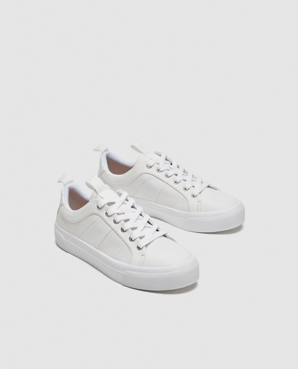 WHITE PLIMSOLLS-View all-SHOES-WOMAN