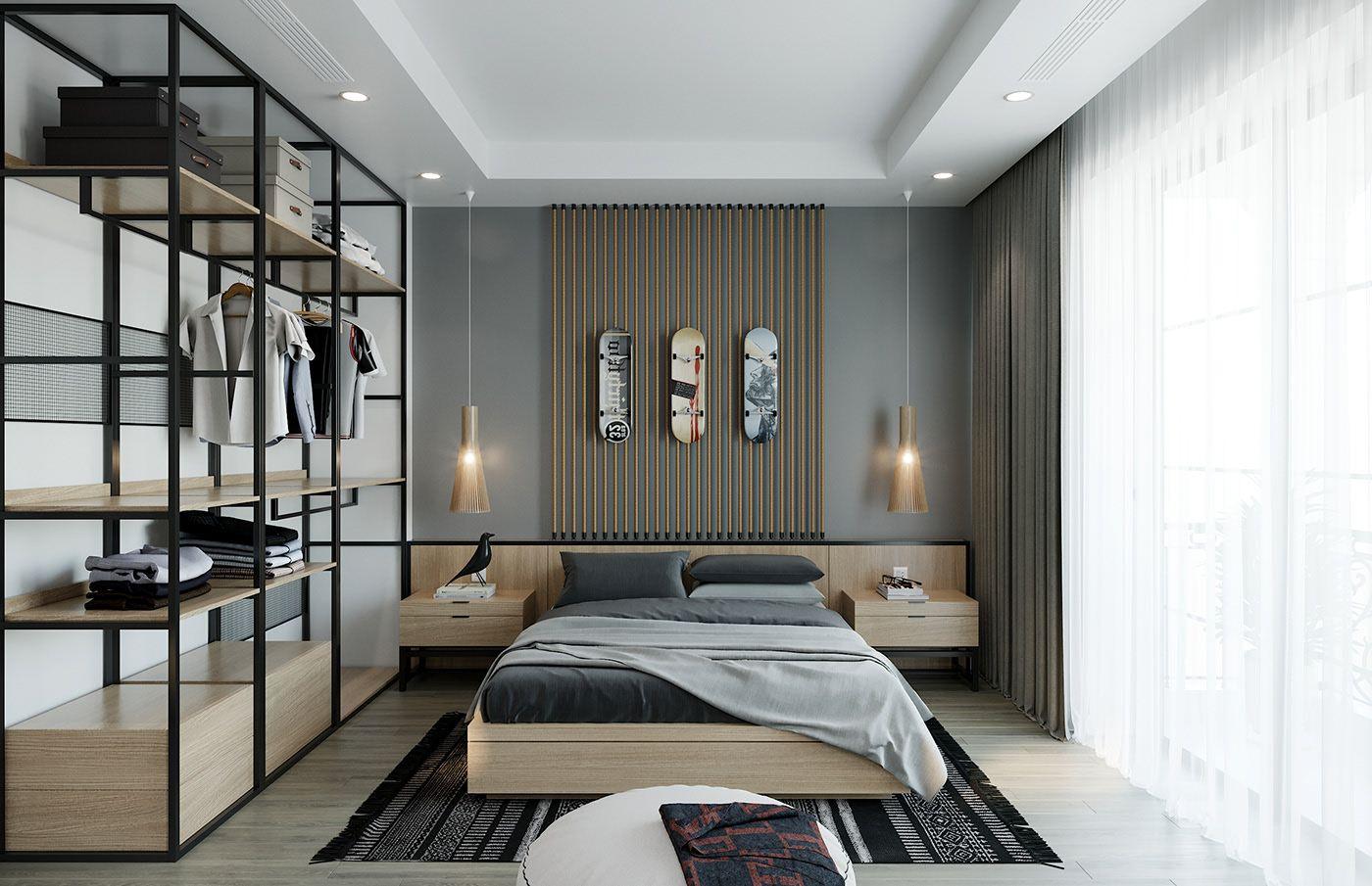 Minimalist Bedroom Design Minimalis