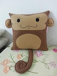 Handmade Cute Monkey Baby Infant Ape Plush Pillow #pet #animal $27.95 http://www.rbitencourtusa.com/#!product/prd1/2658855001/handmade-cute-monkey-baby-infant-ape-pillow