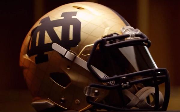 Notre Dame Releases Shamrock Series Uniforms For Purdue Game Notre Dame Football Helmets Uniform