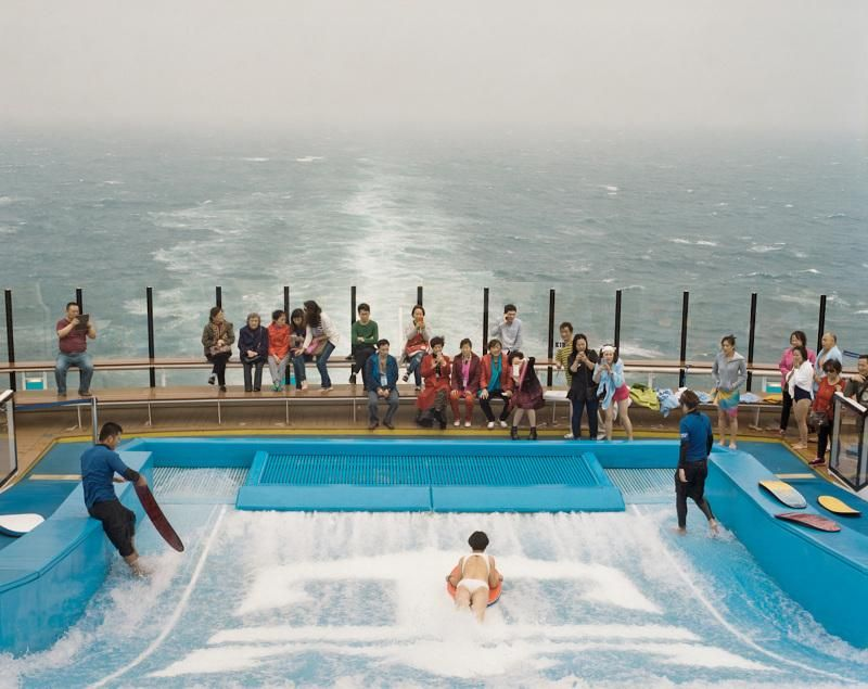 Surreal Photos Onboard a Chinese Cruise Ship Cruise ships, Cruises