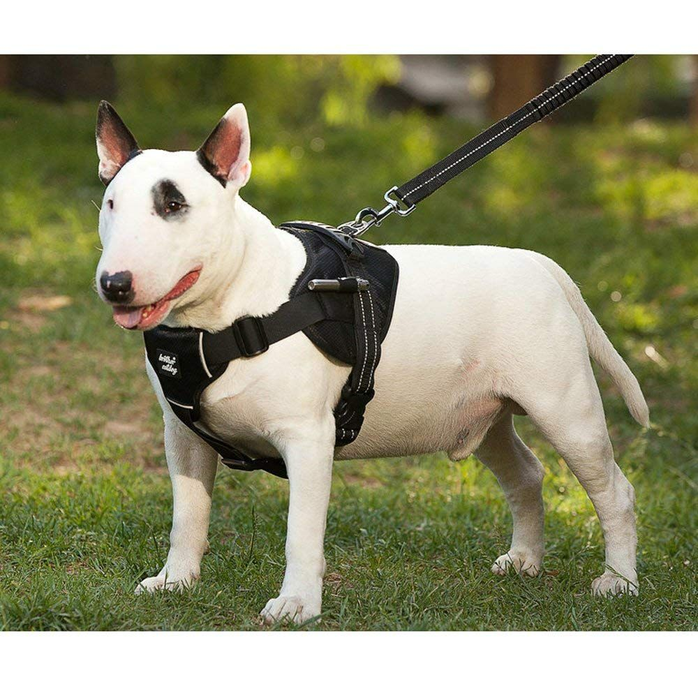 Large No Pull Dog Vest Harness Sualer Big Dog Harness With Control