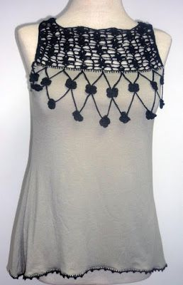 e437fc353911 blusas | moda | Blusas, Ganchillo ropa y Blusas de crochet