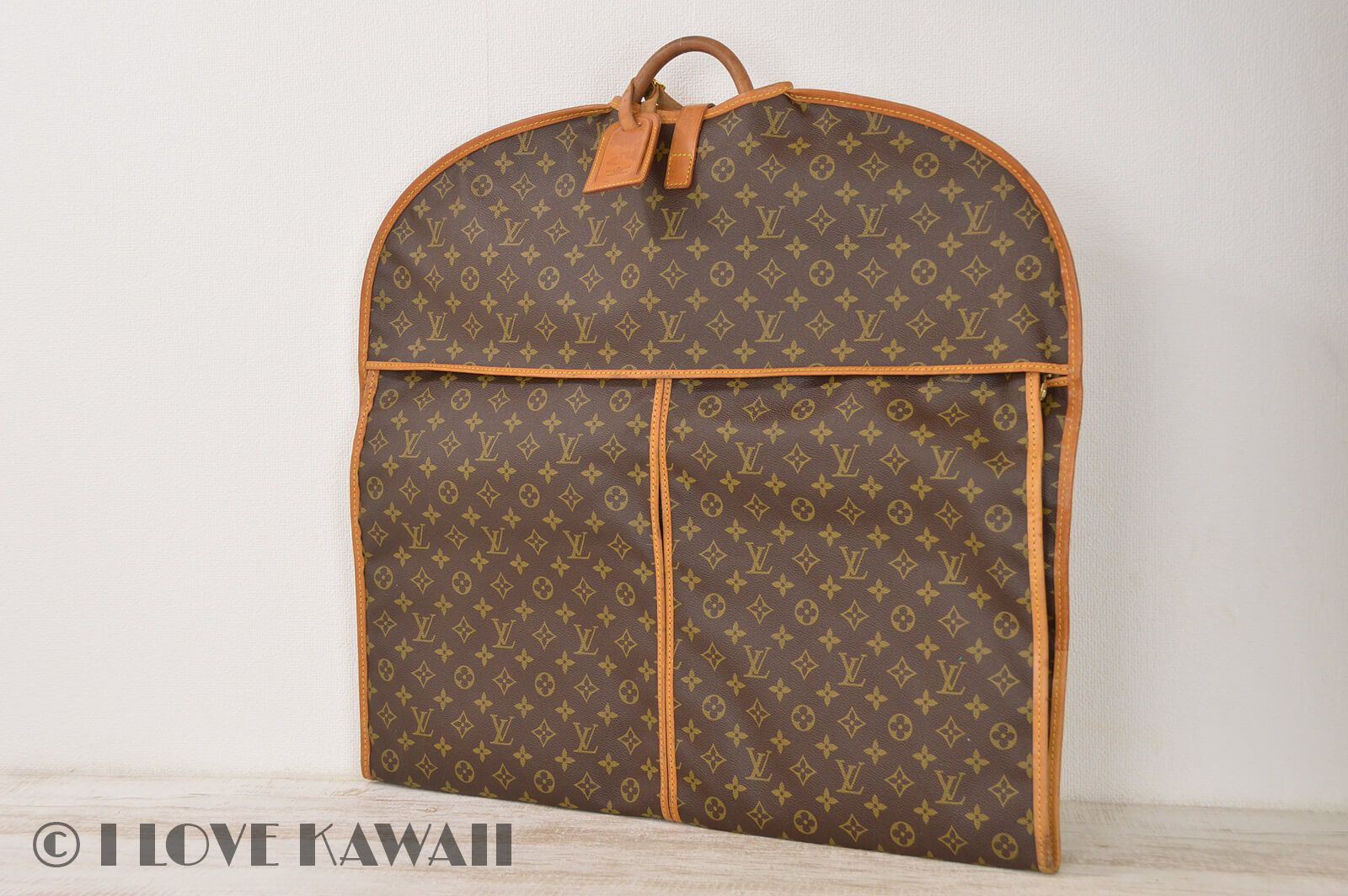 Louis Vuitton Monogram Usu Porto Habit For Man Garment Bag M23434