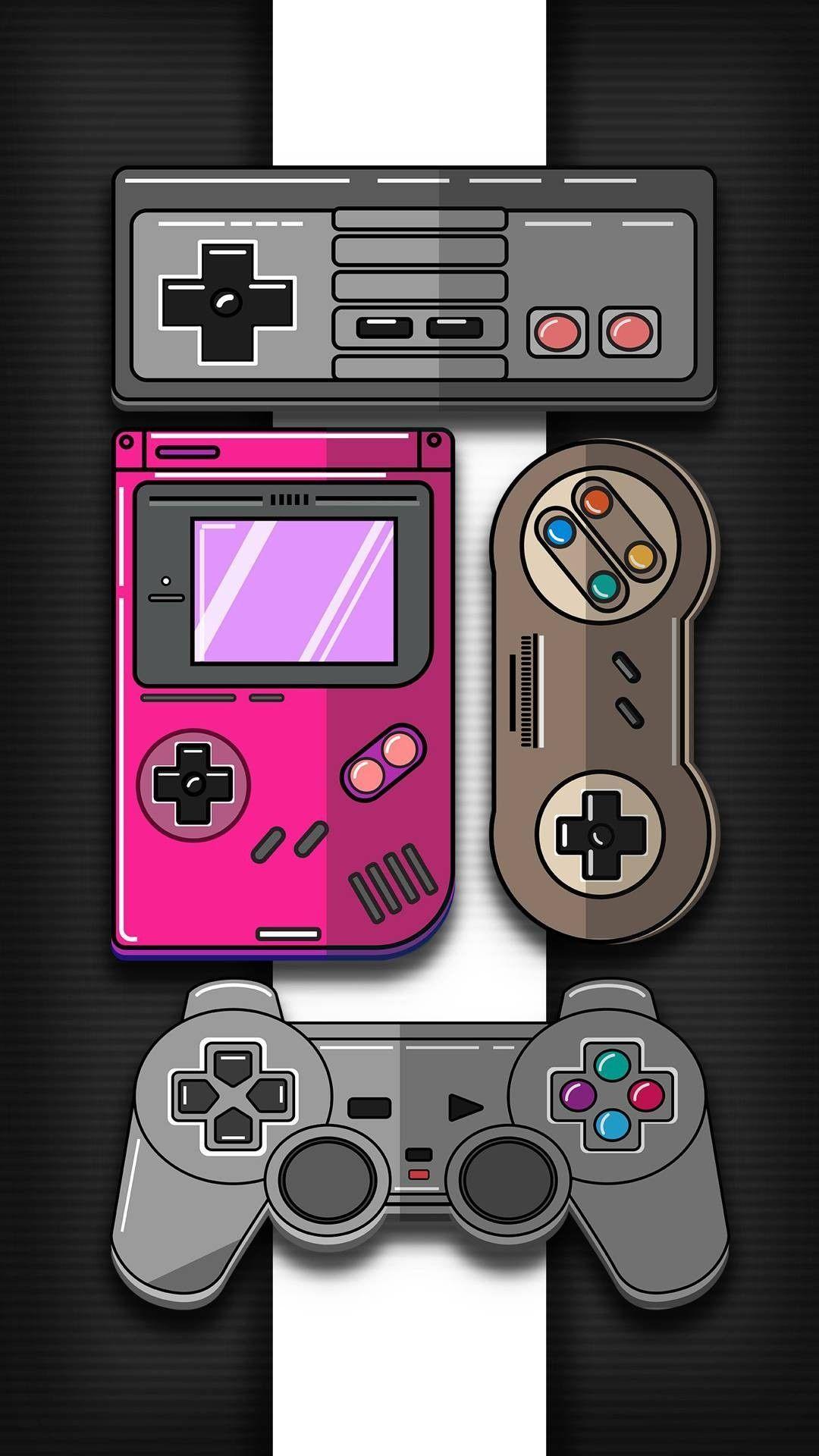 Las Mejores Imagenes De Fondos De Pantalla Gamer 4k Para Celular Android Y Wallpapers Game Over Retro Games Wallpaper Game Wallpaper Iphone Retro Gaming Art