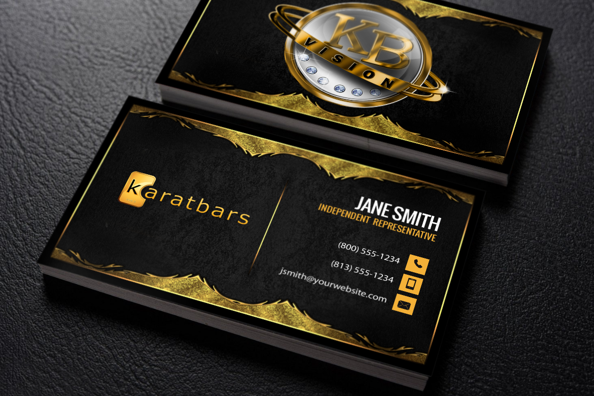 Karatbars Business Cards Free Shipping Free Business Cards Karatbars Printing Business Cards