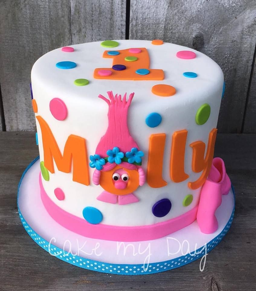 Pin on troll cakes and party ideas