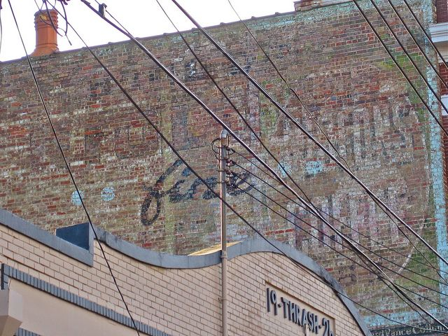 Coffee Ghost Sign, Meridian, MS | Meridian, my home town <3