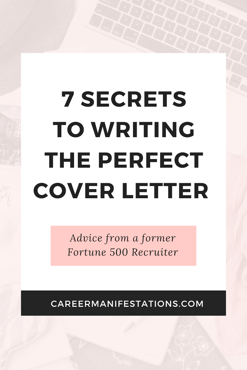 7 Secrets for Writing the Perfect Cover Letter - Perfect cover letter, Cover letter tips, Job cover letter, Cover letter for resume, Lettering, Cover letter - Do recruiters and hiring managers read cover letters today  Absolutely! The reason cover letters get such a bad reputation is because most job seekers don't take the time to write ones worthy of reading  When you write a cover letter that impersonal, oldfashioned and shows that you didn't spend any time