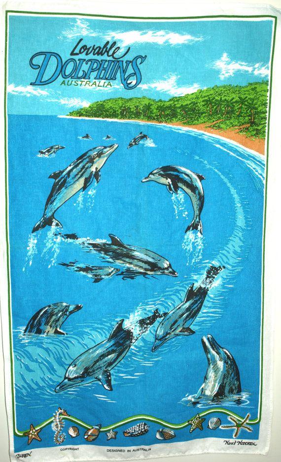 Dolphin Dish Towel
