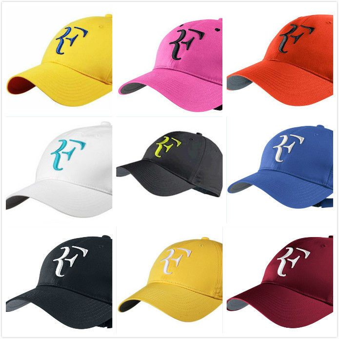 f95671bea4b Baseball Caps Roger Federer RF Adjustable Tennis Hybrid Hats Embroidery  Snapback  BaseballCapsChina  BaseballCap