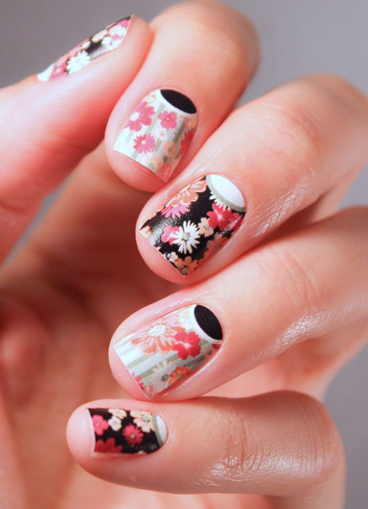 You\'re So Pretty   Pinterest   Nail wraps, Manicure and Short nails
