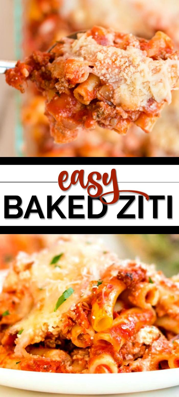 Easy Baked Ziti Recipe images