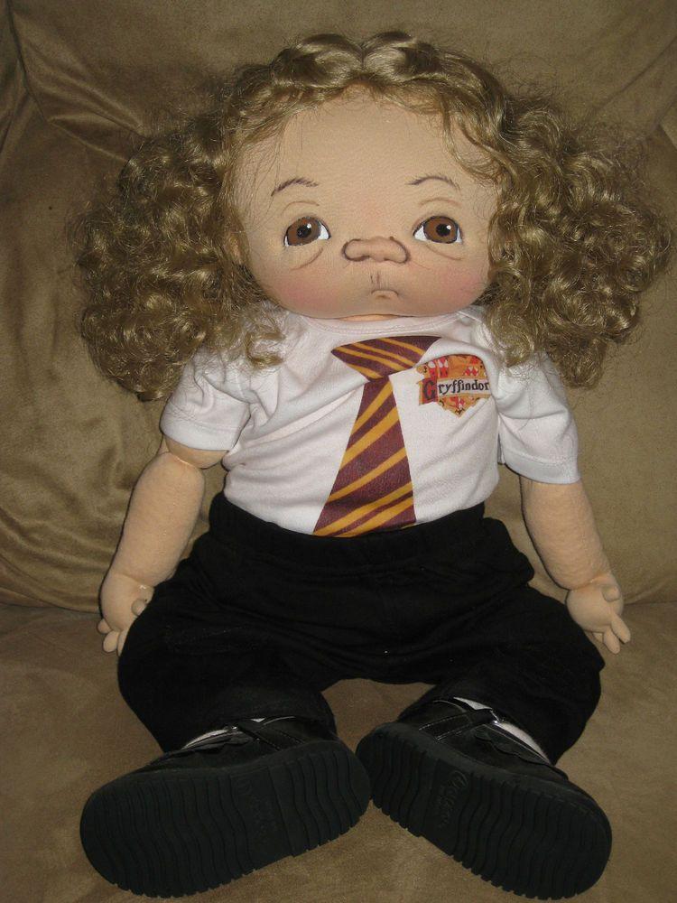 Jan Shackelford OOAK 2012 Harry Potter Series HERMIONE ...