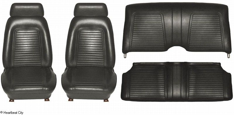 1969 Camaro Seat Cover Kit Std Black Camaro Coupe Camaro Used Camaro