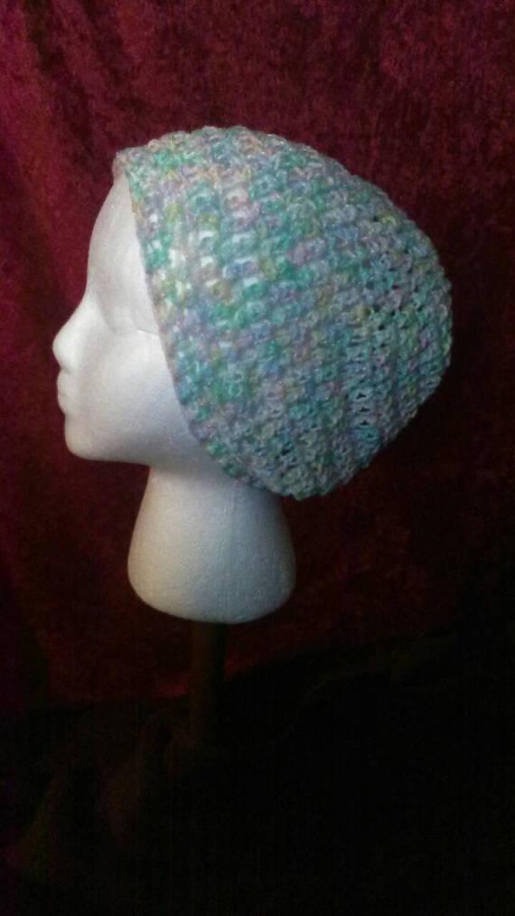 Pastel Crochet Slouchy Beanie 4bda6fb089f