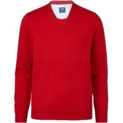 Photo of Olymp Strick Pullover, modern fit, Lackrot, Xl Olymp