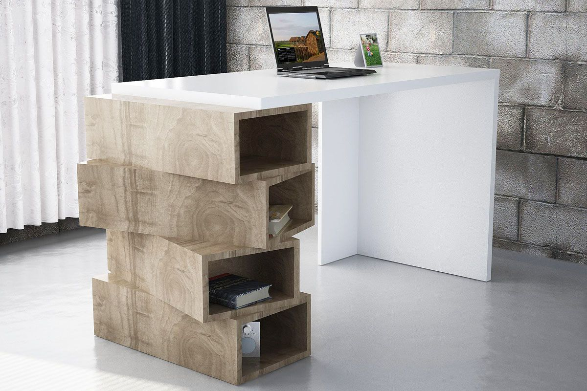 Vente mobilier living 27378 bureau bureau 4 niches jenga