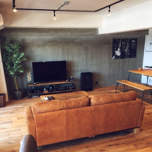 一人暮らし 部屋全体のインテリア実例 2017 06 02 15 29 08 Roomclip ルームクリップ インテリア リビング ローソファー インテリアデザイン