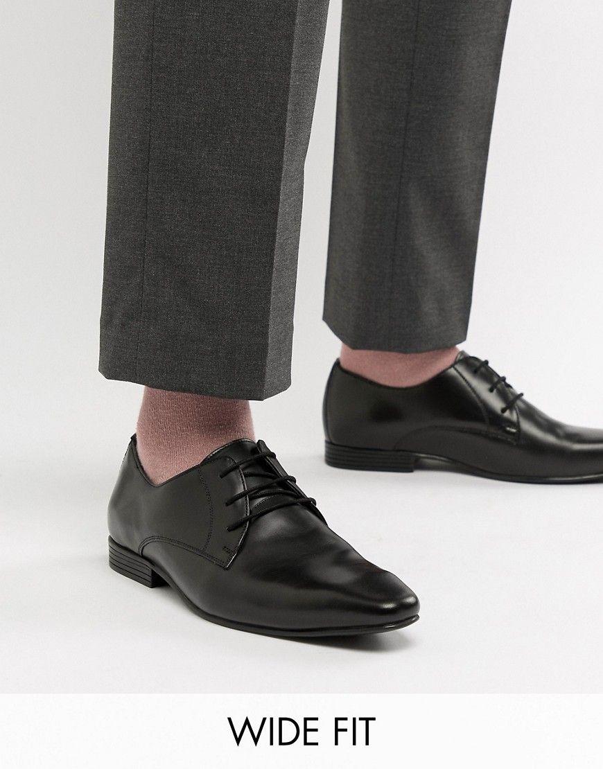 f9fb7f89c01 KG KURT GEIGER KG BY KURT GEIGER WIDE FIT DERBY LEATHER SHOES - BLACK.   kgkurtgeiger  shoes