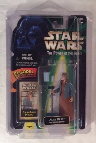 Star Wars The Power of The Force Flashback Photo Aunt Beru | eBay