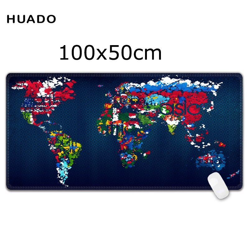 Buy us 1994 large mouse pad 1000x500mm speed world map keyboard buy us 1994 large mouse pad 1000x500mm speed world map keyboard mat desk mat for game gumiabroncs Image collections