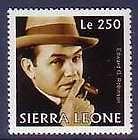 Edward G. Robinson Stamp