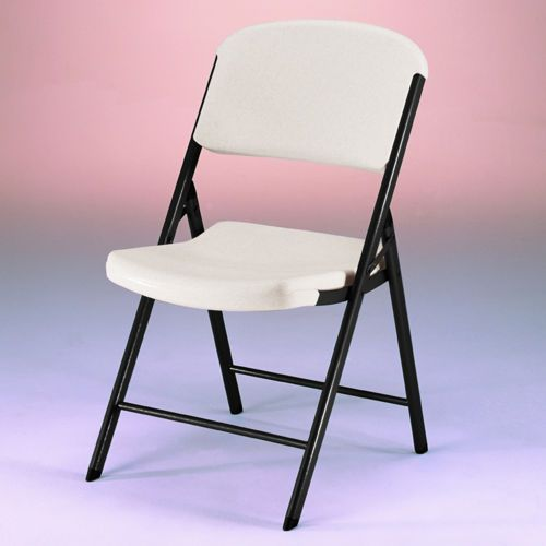 Stupendous Lifetime Folding Chair White Or Beige 4 Pack Game Room Ocoug Best Dining Table And Chair Ideas Images Ocougorg