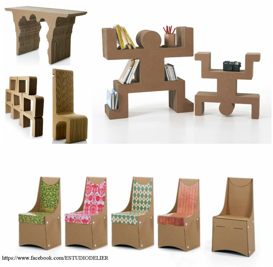 - Muebles de carton ...