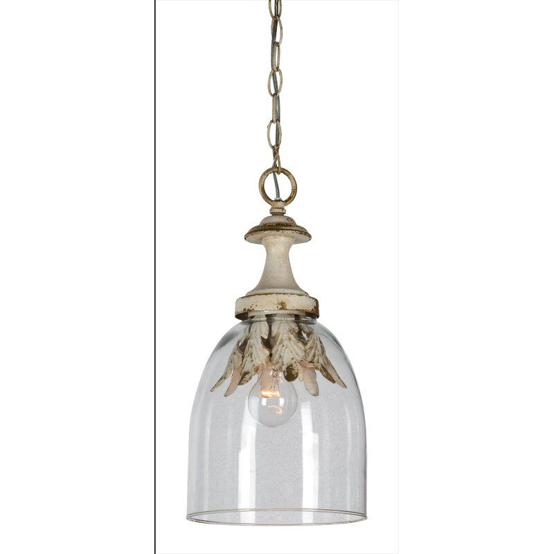 Ashanti 1 Light Single Bell Pendant Glass Pendant Light Pendant Lighting Single Pendant Lighting