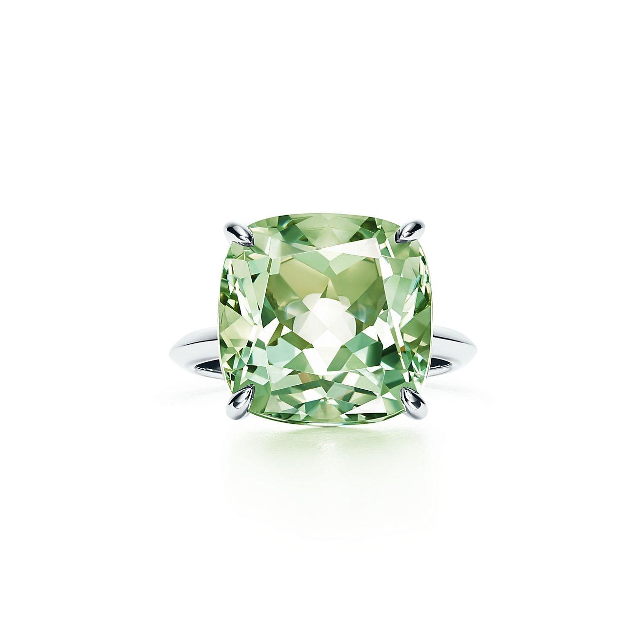 04a80613d Tiffany Sparklers:Green Quartz Ring in 2019 | WEDDING | Tiffany ...