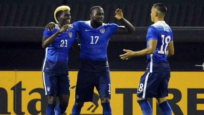 USA 6, St. Vincent and the Grenadines 1 Major league