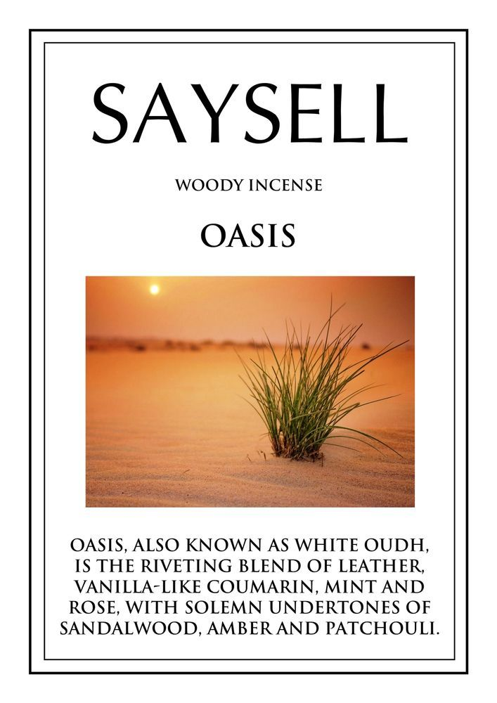 Oasis Woody 100 Incense Joss Sticks Agarbatti by Saysell #Saysell #Woody