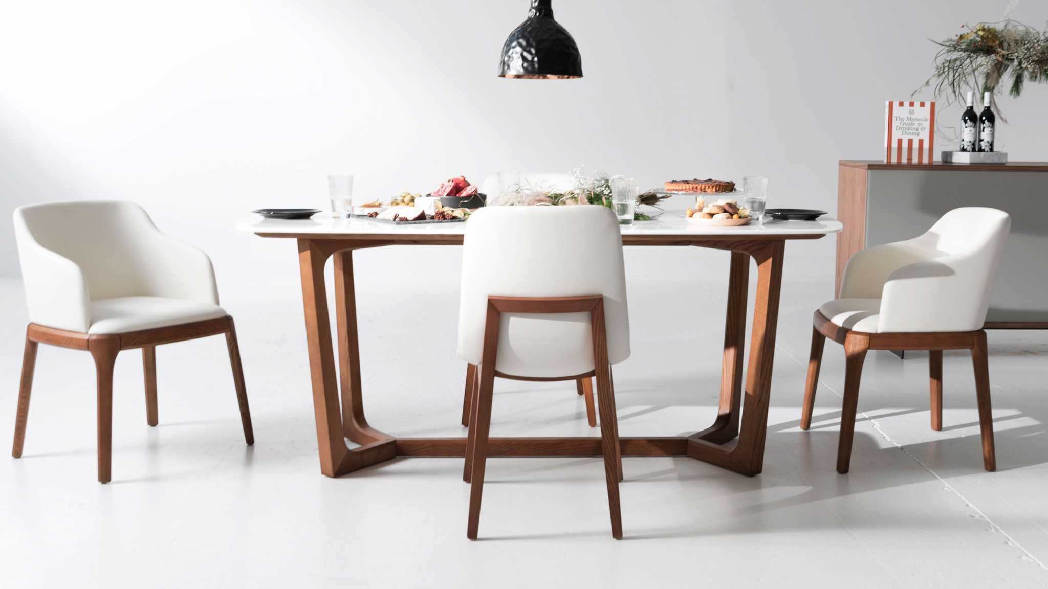 Rove Concepts Furniture Furniture Modern Dining Table Side Chairs