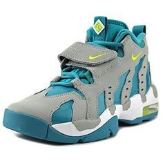 71a65457ef3 Nike Air DT Max 96 Round Toe Patent Leather Basketball Shoe    Visit the  image…