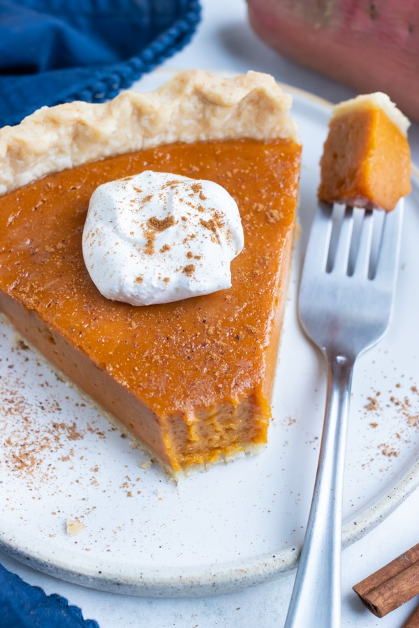 The Best Homemade Sweet Potato Pie Recipe Evolving Table Recipe In 2020 Homemade Sweet Potato Pie Sweet Potato Pie Sweet Potato Pie Southern