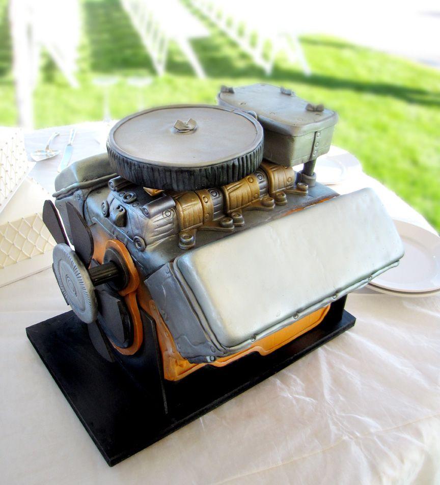 Turbo Groom S Cake