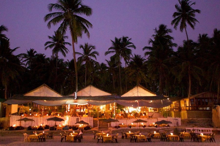 Honeymoooon Palolem Beach South Goa Recommended Beach Bungalows Beach Cottages Beach Hut