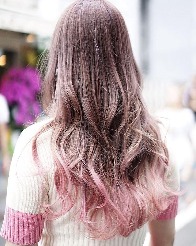原宿 美容室 Factory 03 541 0096 シャーベットカラー ピンク 暑くなっ
