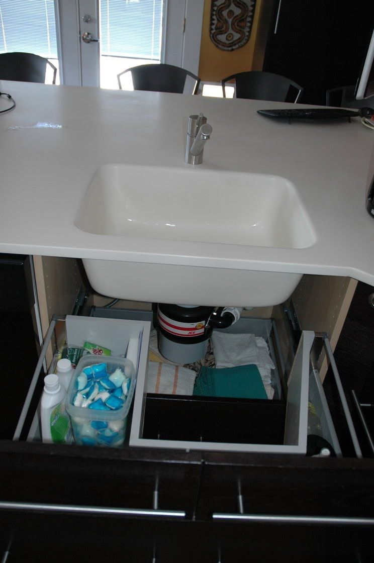 Sink Base With Functional Drawers Sink Sink Sizes Kitchen Sink Install
